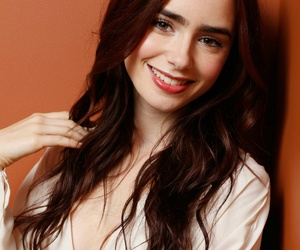 lily collins, lily, and smile image