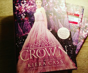 book, the crown, and kiera cass image