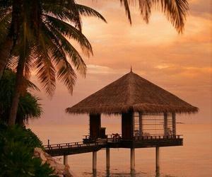 beach, daydream, and dreamy image