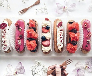 food and eclairs image