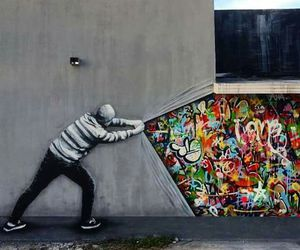art, street art, and graffiti image