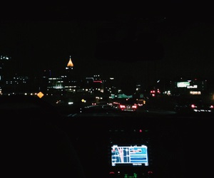 atl, atlanta, and black image