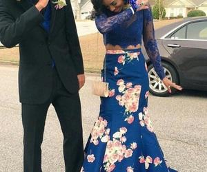 boyfriend, date, and Prom image
