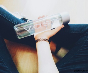 bottle, tumblr, and voss image