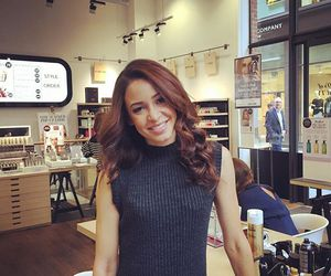 danielle peazer, fashion, and hair image