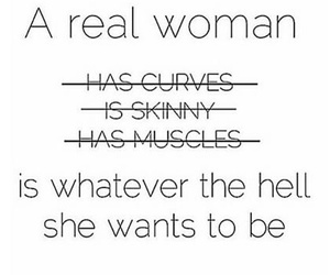 quote, woman, and skinny image