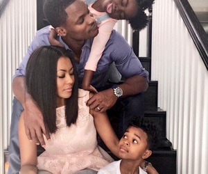 beauty, blackLove, and family image