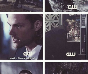 supernatural, crowley, and dean image