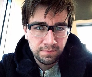 blue eyes, glasses, and torrance coombs image
