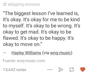 hayley williams, okay, and quotes image