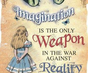 alice in wonderland, alice, and imagination image