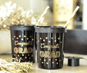 college, gift, and grad image