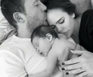 baby, couple, and love image