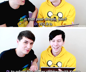 phil lester, amazingphil, and dan and phil image