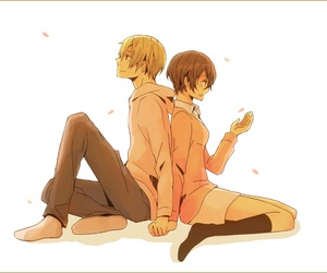anime, romance, and durarara image