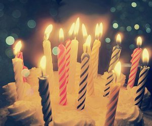 candle, cake, and birthday image