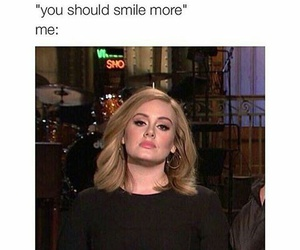 funny, Adele, and lol image