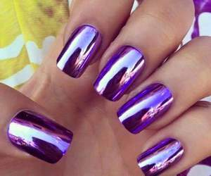mor, purple, and nails image
