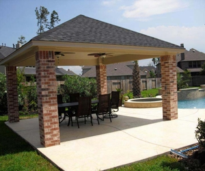 43 images about Pool Pergolas And Gazebos on We Heart It | See more ...