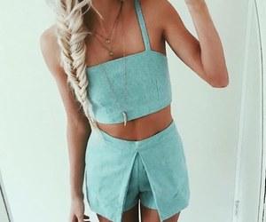braid, chic, and dress image
