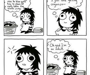 funny, sarah andersen, and Adult image