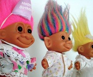 troll, 90s, and happy birthday image