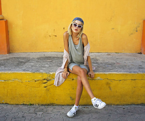 adidas, girl, and summer image