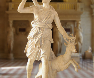 artemis, diana, and louvre image