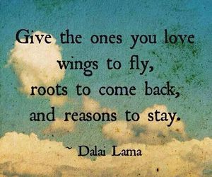 wings, quote, and love image