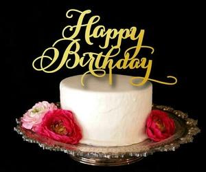 birthday, cake, and hbd image