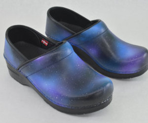 etsy, bstreetshoes, and galaxy shoes image