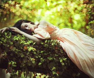 girl, Dream, and beautiful image