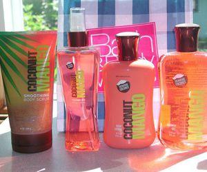 mango, lotion, and summer image