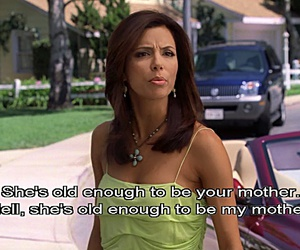 00s, brunette, and Desperate Housewives image