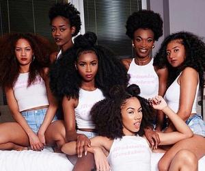 girl, hair, and melanin image