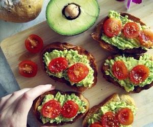 avocado, toast, and healthy image