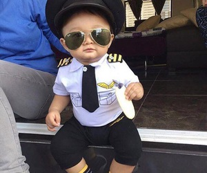 baby and pilot image
