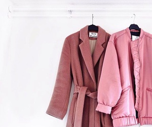 acne studios, cute, and pink coats image