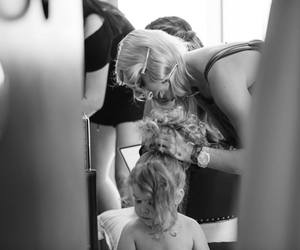 black and white, lou teasdale, and wedding image