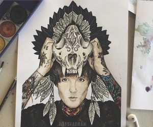 art, artsy, and bmth image