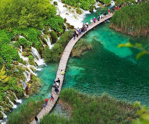 plitvice and plitice lakes national image