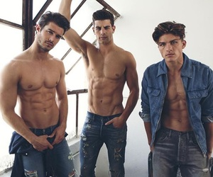 boys, guy, and sixpack image