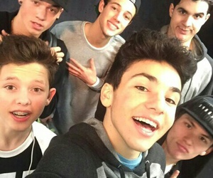 taylor caniff, cameron dallas, and carter reynolds image