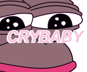 crybaby, frog, and melanie image