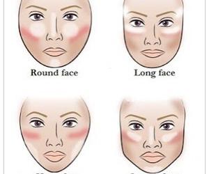 face, makeup, and contour image