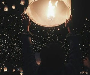 dreams, goals, and lantern image