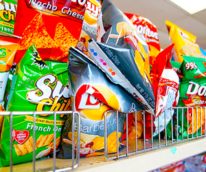 food, chips, and lays image