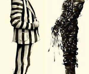beetlejuice, johnny depp, and michael keaton image