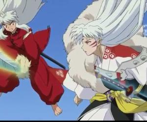 inuyasha and sesshomaru image