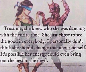 Devil, quotes, and dance image